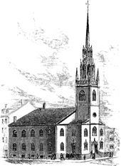 Illustration of Federal Street Church
