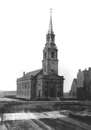 Arlington Street Church in the 19th century